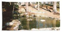 Chinqua Penn Landscape Beach Towel