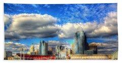 Cincinnati Skyline 2012 - 2 Beach Sheet