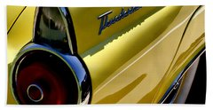 Classic T-bird Tailfin Beach Towel