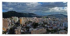 Close Of Business - Quito - Ecuador Beach Sheet