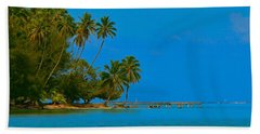 Beach Sheet featuring the photograph Coconuts Anyone by Eric Tressler