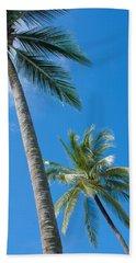 Coconuts  Beach Sheet by Atiketta Sangasaeng