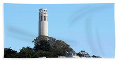 Coit Tower Beach Towel