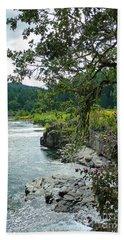 Colliding Rivers Beach Sheet