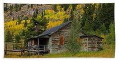 Colorado Autumn Beach Sheet