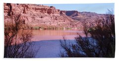 Colorado River After Rain - Utah Beach Towel