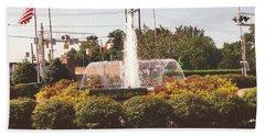 Colored Fountain Beach Sheet