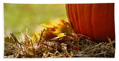 Beach Towel featuring the photograph Colorful Autumn by Nava Thompson