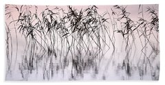 Common Reeds Beach Sheet by Jouko Lehto