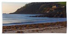 Cornish Seascape Meanporth Beach Towel