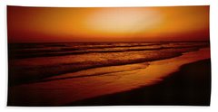 Corona Del Mar Beach Towel by Mark Greenberg
