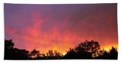 Crepuscule Beach Towel