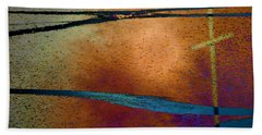 Beach Towel featuring the photograph Crossroads by Lenore Senior