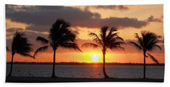 Beach Sheet featuring the photograph Cudjoe Sunrise by Clara Sue Beym
