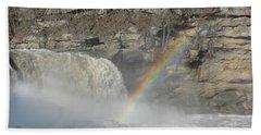 Beach Towel featuring the photograph Cumberland Falls by Tiffany Erdman