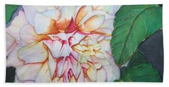 Dahlia Beauty Beach Sheet