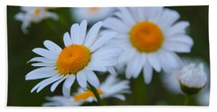 Beach Towel featuring the photograph Daisy by Athena Mckinzie