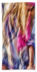 Dancing Hippie Beach Towel