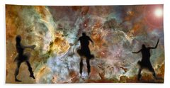 Dancing Nebula Beach Towel