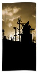Dark Superstructure Beach Towel
