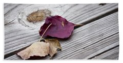 Dead Leaves Beach Sheet