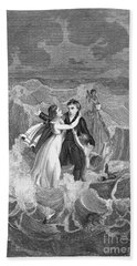Death Of Missionary, 1822 Beach Towel