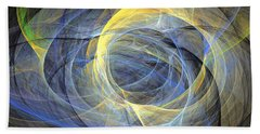 Delightful Mood Of Abstracted Mind Beach Towel