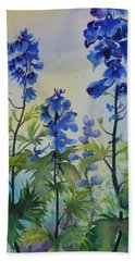 Delphiniums Beach Sheet