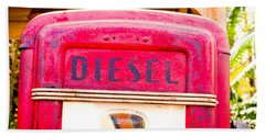 Diesel Pump Beach Towel