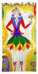 Dna Woman-eternal Life Beach Towel