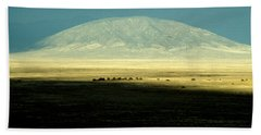 Beach Towel featuring the photograph Dome Mountain by Brent L Ander