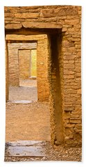 Doorway Chaco Canyon Beach Towel