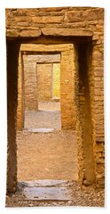 Doorway Chaco Canyon Beach Towel