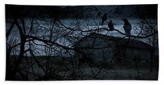 Dreadful Silence Beach Towel by Lourry Legarde