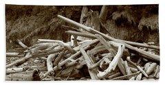 Driftwood Pile San Juan Beach Towel