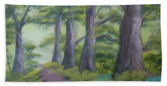 Duff House Path Beach Towel