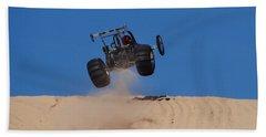 Dune Buggy Jump Beach Towel