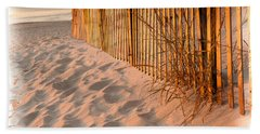 Dune Fence Beach Towel