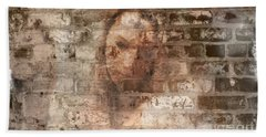 Beach Sheet featuring the photograph Emotions- Self Portrait by Janie Johnson