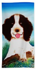 English Springer Spaniel Beach Towel