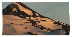 Evening Into Night Beach Towel by Laddie Halupa