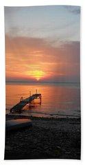 Evening Rest Beach Towel