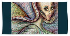 Exposed Beach Towel by Danielle R T Haney