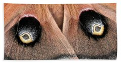 Eyes Of Deception Beach Towel
