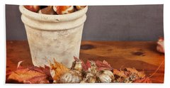 Fall Bulbs 1 Beach Towel
