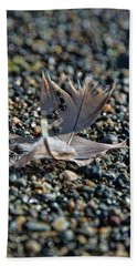 Beach Sheet featuring the photograph White Feather by Marilyn Wilson
