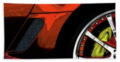 Ferrari Wheel Detail Beach Towel