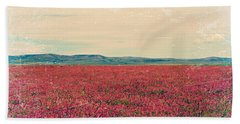 Fields Of Heaven Beach Towel by Leanna Lomanski