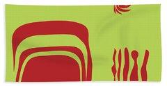 Beach Towel featuring the digital art Fire Spirit Cave by Kevin McLaughlin
