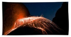 Firefall Beach Towel
